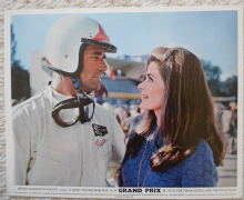 Grand Prix. Original Movie Still, James Garner, Eva Marie Saint, '66
